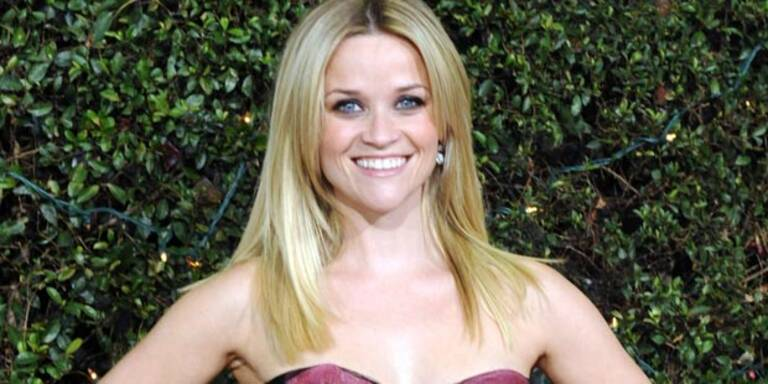 Reese Witherspoon heiratete in Rosa