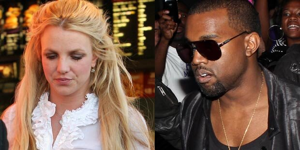 Kanye West schießt sich auf Britney ein