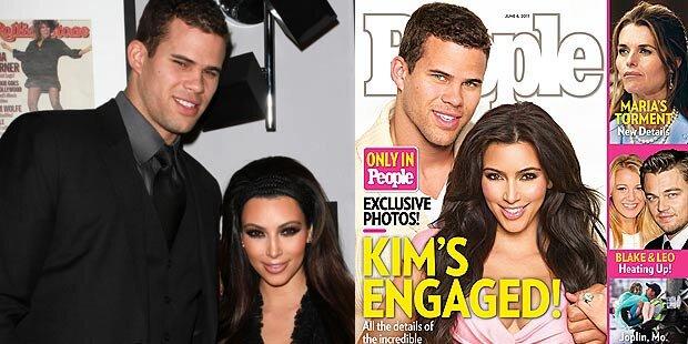 Kim Kardashian & Kris Humphries verlobt!