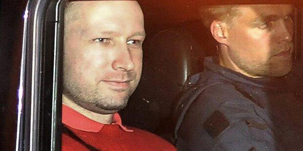 Breivik telefonierte 10x mit der Polizei