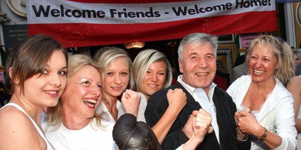 Hansi Orsolics boxt gegen Gery Keszler