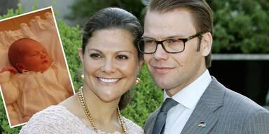 Prinzessin Victoria von Schweden & Prinz Daniel: Stolz auf Baby Estelle