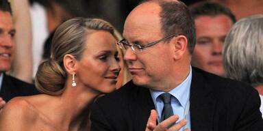 Charlene Wittstock und Fürst Albert II.