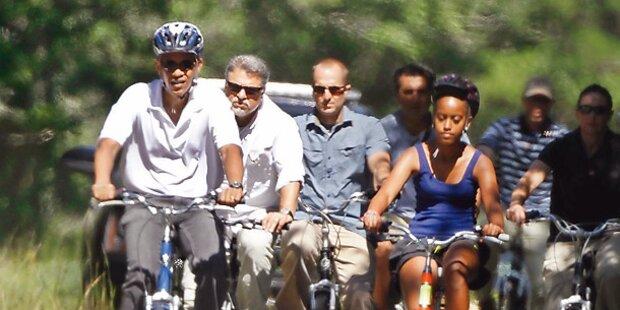 Luxus-Urlaub für Barack Obama