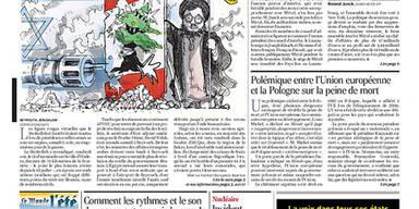 Le Monde: Titelseite vom 07.08.2006