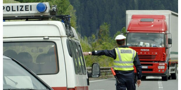 Schlepper mit fünf Moldawiern aufgegriffen
