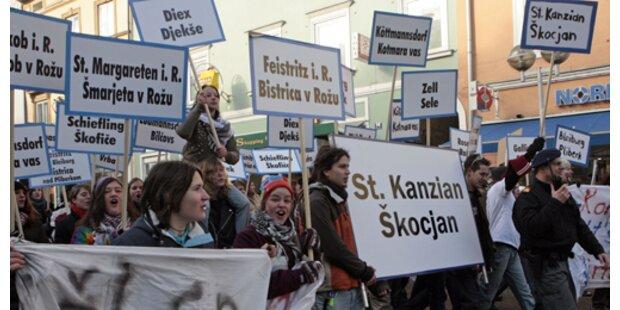 Boykott der Kärntner Ortstafelsitzung