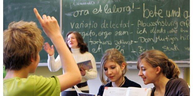 599 Mio. Euro für Schul-Bauten - und Konjunktur