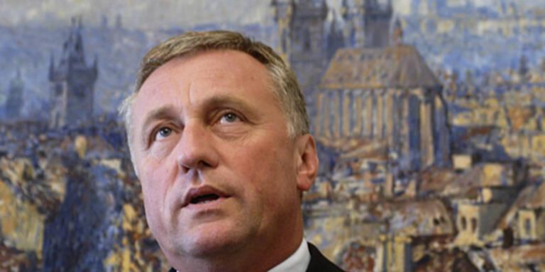 Laut Premier Topolanek wird der Prozess etwa ein Jahr dauern. (c)AFP