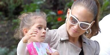 Jennifer Lopez mit Tochter Emme