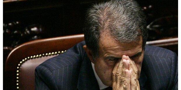 Wie es die Opposition Prodi schwer machte