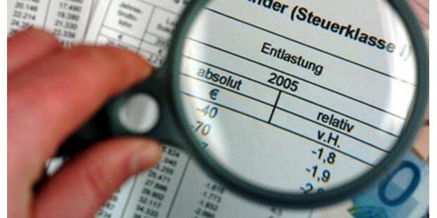 Steuerreformen brachten keine Entlastung