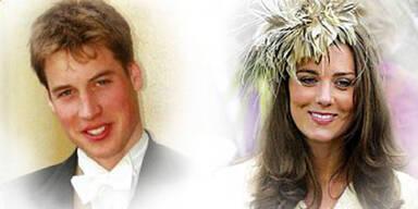 Kate und Will sind