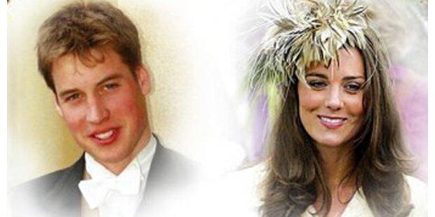 Prinz William und seine Kate heimlich verlobt
