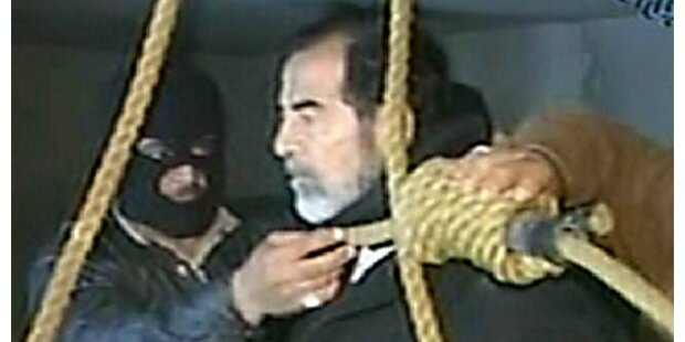 Neue Aufnahmen von hingerichtetem Saddam Hussein
