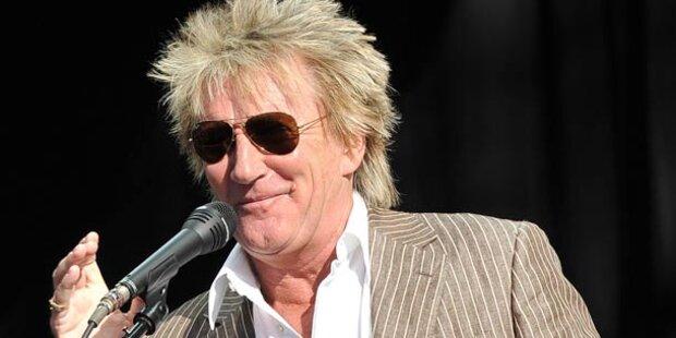 Rock-Opa Rod Stewart wurde Großvater