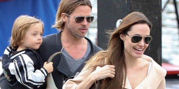 Pitt und Jolie mieten sich einen ganzen Zug