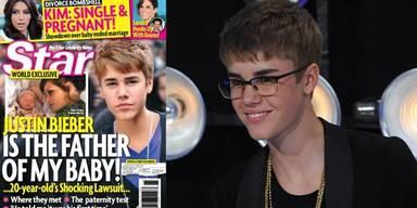 Justin Bieber: Vaterschaftsklage