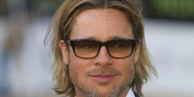 Brad Pitt: In der Früh ist Chaos am größten