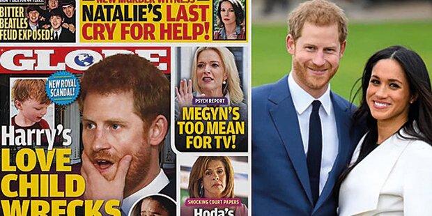 Prinz Harry wird mit Kind erpresst