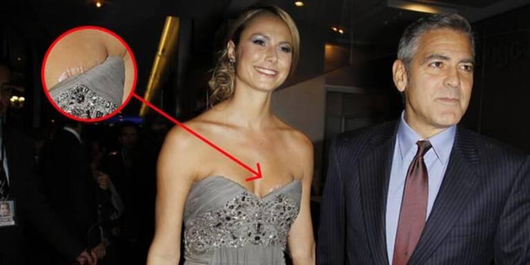 Hoppala! Clooney-Liebe Keibler zeigt Tape