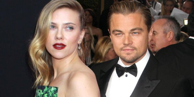 Johansson & DiCaprio: Geht da was?