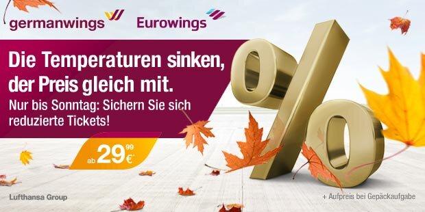 Anzeige Germanwings