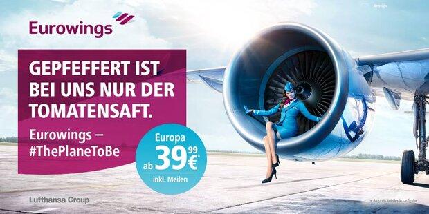 Anzeige Eurowings