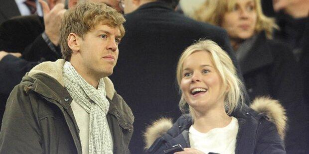 Sebastian Vettel wird Papa