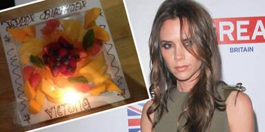 Victoria Beckham: Obstteller zum Geburtstag
