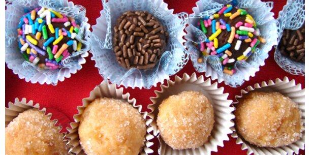 Süßes verschenken, statt selber aufessen