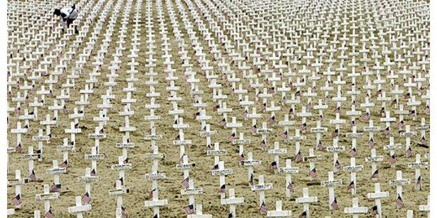 Mehr als 16.000 Gewaltopfer im Jahr 2006 im Irak