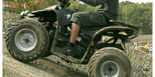 15-jähriger Quadfahrer lieferte Polizei Verfolgsjagd