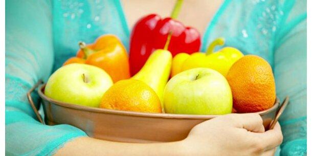 Top-Vorsatz für 2007 - mehr Obst und Gemüse