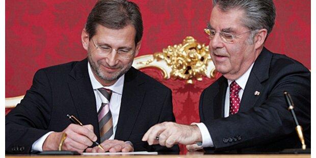 Hahn will Stipendientopf um 25 Mio. Euro erhöhen