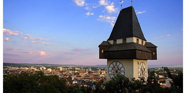 Graz hat erstmals über 250.000 Einwohner