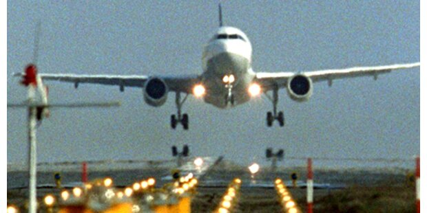 Unfall bei Flugzeuglandung in Klagenfurt