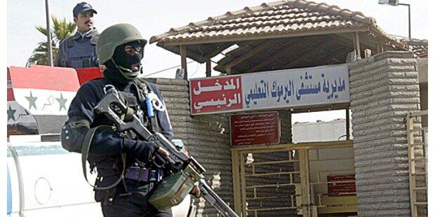 Irakische Elite-Polizisten töteten 15 Extremisten