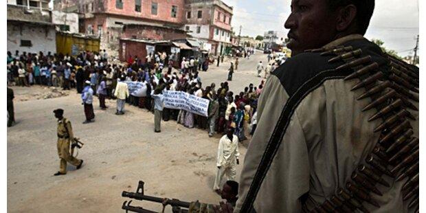 Äthiopisches Militär schießt auf Demonstranten