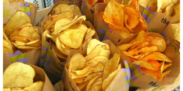 Teure Chips stark mit Acrylamid belastet