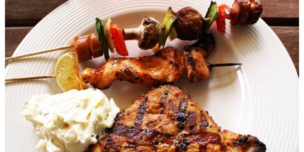 Vorsicht: Salmonellen im Grillfleisch