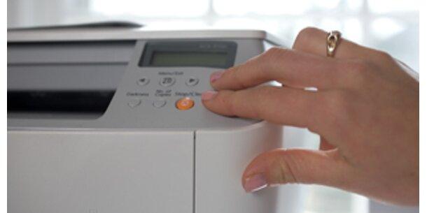Dicke Luft durch Drucker