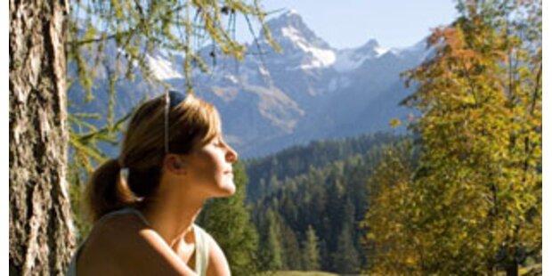 Spätsommer in den Alpen genießen