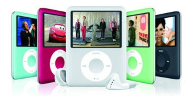 Neuer iPod nano spielt jetzt auch Videos