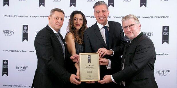 European Property Award für Seestadt Aspern