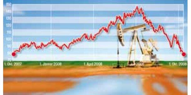 Der Ölpreis stürzt ab