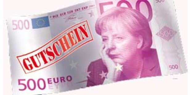 Staat soll 500 Euro verschenken