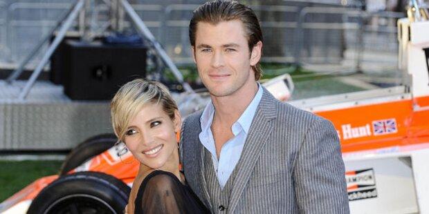 Chris Hemsworth wird wieder Vater