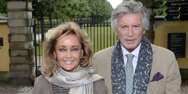 Pierre Brice & Ehefrau Hella