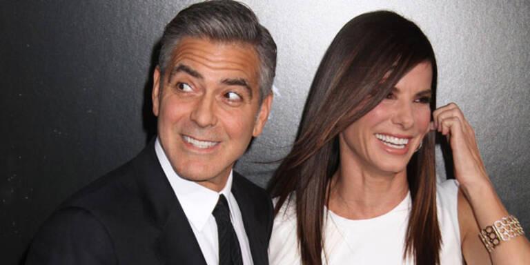 """Clooney: """"Sandy trinkt eine Menge"""""""